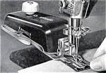 Click to view larger image of Singer buttonholer manual for sewing machine (Image1)