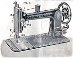 Click here to enlarge image and see more about item smm380: Davis Vertical Feed sewing machine manual