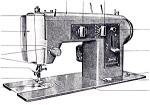 Click here to enlarge image and see more about item smm395a: PRINTED Kenmore by Sears 1301 sewing machine manual (smm395a)