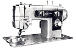 Click here to enlarge image and see more about item smm395d: PRINTED Kenmore by Sears 1304 sewing machine manual (smm395d)