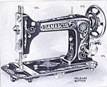 Click here to enlarge image and see more about item smm423: Damascus sewing machine manual