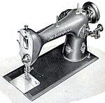 Click here to enlarge image and see more about item smm430a: PRINTED Westinghouse Free ALB sewing machine manual (smm430a)