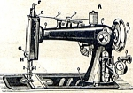 Click here to enlarge image and see more about item smm433apdf: DOWNLOAD / PDF Paveway Regal sewing machine instruction manual (smm433apdf)