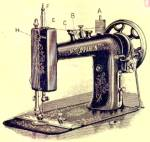 Click here to enlarge image and see more about item smm435bpdf: DOWNLOAD / PDF Perry Mason New Companion sewing machine manual (smm435bpdf)