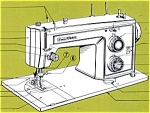 Click here to enlarge image and see more about item smm439: PRINTED Kenmore by Sears 1410 sewing machine manual (smm439)