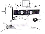 Click here to enlarge image and see more about item smm442: Emdeko sewing machine LT 72 Select n Sew manual
