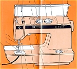 Click here to enlarge image and see more about item smm451: PRINTED Singer 1036 sewing machine instruction manual (smm451)
