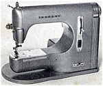 Click here to enlarge image and see more about item smm461: Fridor Stitchmaster NM 6 sewing machine manual