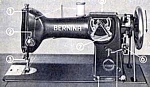 Click here to enlarge image and see more about item smm462: Bernina 117 sewing machine manual