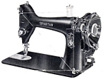 Click here to enlarge image and see more about item smm467a: PRINTED Singer Spartan model 192 sewing machine manual (smm467a)