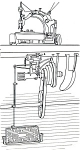 Click here to enlarge image and see more about item smm473: PRINTED Union class 1800 and 1900 sewing machine manual (smm473)