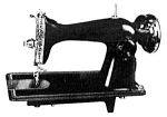 Click here to enlarge image and see more about item smm516: PRINTED Un named sewing machine manual (smm516)