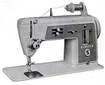 Click here to enlarge image and see more about item smm525: PRINTED Singer 611 sewing machine manual (smm525)