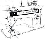Click here to enlarge image and see more about item smm527apdf: DOWNLOAD / PDF Singer 814 Finesse sewing machine manual (smm527apdf)