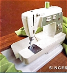 Click here to enlarge image and see more about item smm530a: PRINTED Singer 734 Stylist  sewing machine manual (smm530a)