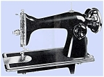 Click here to enlarge image and see more about item smm539: PRINTED Un named sewing machine manual (smm539)