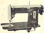 Click here to enlarge image and see more about item smm541: Belvedere zig zag sewing machine manual