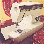 Click here to enlarge image and see more about item smm554: PRINTED Singer 1200 Athena  sewing machine manual (smm554)