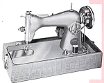 Click here to enlarge image and see more about item smm586: Generic Singer 15 Happy HA-1 sewing machine manual
