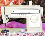 Click here to enlarge image and see more about item smm596: PRINTED Singer 507 sewing machine manual (smm596)