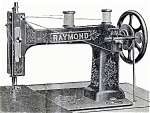 Click here to enlarge image and see more about item smm599: Raymond New Improved VS sewing machine manual