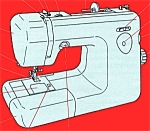 Click here to enlarge image and see more about item smm602: PRINTED ME 4018 sewing machine manual (smm602)