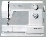 Click here to enlarge image and see more about item smm603: Bernette 330 R  sewing machine manual