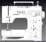Click to view larger image of Bernina 1011 sewing machine manual (Image1)