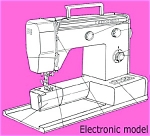 Click here to enlarge image and see more about item smm636a: PRINTED Un named sewing machine manual (smm636a)