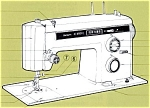 Click here to enlarge image and see more about item smm638: PRINTED Kenmore by Sears 1431 sewing machine manual (smm638)