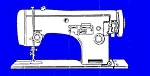 Click here to enlarge image and see more about item smm644: PRINTED Necchi type 513 sewing machine manual (smm644)