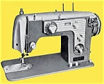 Click here to enlarge image and see more about item smm649: PRINTED Un named sewing machine manual (smm649)