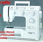 Click here to enlarge image and see more about item smm655a: Bernette 730 sewing machine manual