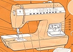 Click here to enlarge image and see more about item smm680: PRINTED Singer 2000 Athena sewing machine manual (smm680)