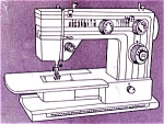 Click here to enlarge image and see more about item smm683: PRINTED Un named sewing machine manual (smm683)