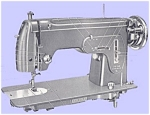 Click here to enlarge image and see more about item smm699: PRINTED Un named sewing machine manual (smm699)