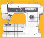 Click here to enlarge image and see more about item smm704: Janome 793 FA Designer sewing machine manual