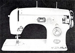 Click here to enlarge image and see more about item smm709: Un named sewing machine manual