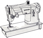 Click here to enlarge image and see more about item smm725: PRINTED Singer 317  sewing machine manual (smm725)