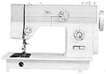 Click here to enlarge image and see more about item smm748: PRINTED Super Stretch model 510 sewing machine manual. (smm748)