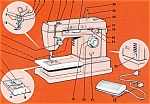 Click here to enlarge image and see more about item smm792: PRINTED Singer 4314 sewing machine instruction manual (smm792)