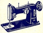 Click to view larger image of Pfaff 130 Dial A Stitch sewing machine manual (Image1)
