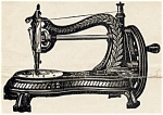 Click here to enlarge image and see more about item smm819: Jones hand crank sewing machine manual
