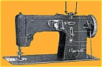 Click here to enlarge image and see more about item smm824: Vigorelli zz A Robot sewing machine manual (smm824)