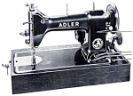 Click here to enlarge image and see more about item smm840: Adler 20 and 21 sewing machine manual