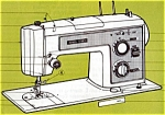 Click here to enlarge image and see more about item smm843: PRINTED Kenmore by Sears 1730  sewing machine manual (smm843)