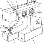 Click to view larger image of Janome JA 1508 sewing machine manual (Image1)