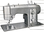 Click here to enlarge image and see more about item smm863: PRINTED Kenmore by Sears 1751 sewing machine manual (smm863)
