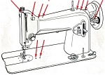 Click here to enlarge image and see more about item smm870: Morse model unknown sewing machine manual (smm870)