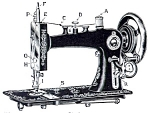 Click here to enlarge image and see more about item smm874: PRINTED National Paveway sewing machine instruction manual (smm874)